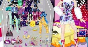 Barbie w stylu Monster High