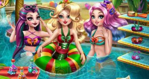 Ever After High na basenie