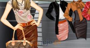Skórzane spódniczki
