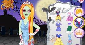 Barbie Księżniczka i kostium zombie