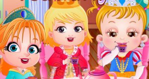 Mała Hazel i imprezka herbatkowa