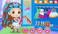 Chibi księżniczki Disneya i koncert rockowy