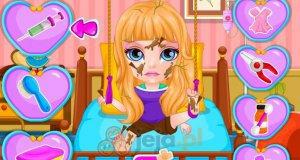 Mała Barbie w szpitalu