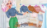 Księżniczki projektują jeansy