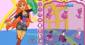 Starfire z DC Super Hero Girls