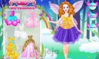 Barbie - kolorowy anioł