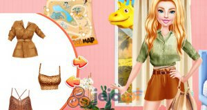 Barbie na safari