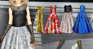 Metaliczne suknie balowe