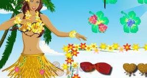 Hawajski strój
