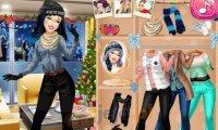 Księżniczki i zimowa zabawa
