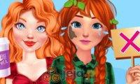 Wieśniaczka i dama