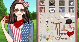 Amerykański makijaż