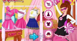 Super Barbie cheerleaderka