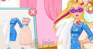 Super Barbie i błyszczące sukienki