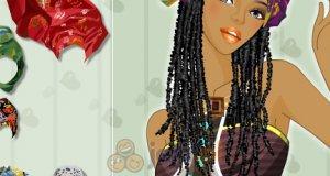 Afrykańskie nakrycie głowy