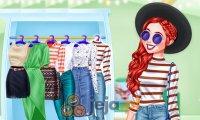 Księżniczki i jesienny shopping