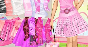Różowa dziewczynka