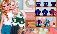 Świąteczne sweterki księżniczek