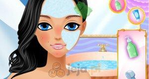 Cindy na plaży