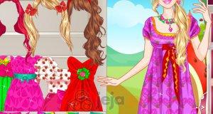 Barbie truskawkową księżniczką