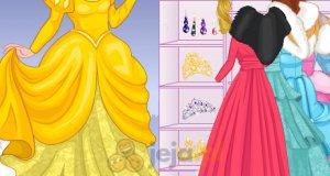 Księżniczki Disneya zimą