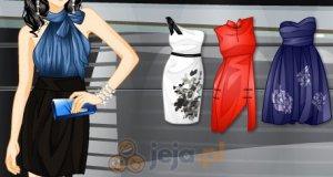 Satynowe sukienki