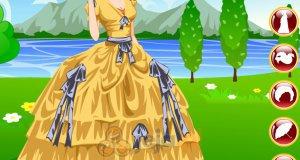 Księżniczka w ogrodzie