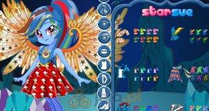 Kryształowe skrzydła Rainbow Dash