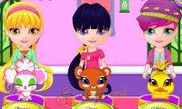 Mała Barbie z magicznymi pupilami
