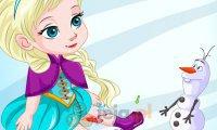 Elsa i wypadek na lodzie