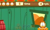 Garfield łapie jajka