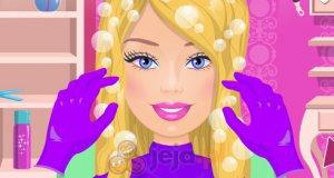 Fryzura Barbie