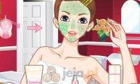 Makijaż w odcieniu czerwieni