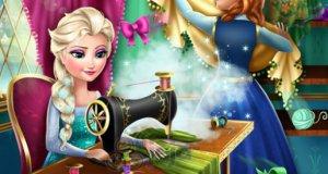 Anna i Elsa - modowa rywalizacja 2