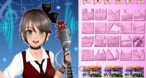 Kreator postaci: Piosenkarka anime