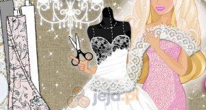 Barbie projektuje suknię ślubną