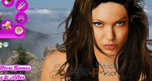 Makijaż dla Angeliny Jolie