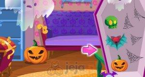 Halloweenowe dekorowanie pokoju
