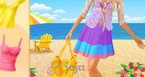 Barbie nad morzem