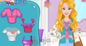 Barbie projektuje kurtkę