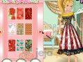 Projektowanie długiej spódnicy dla Barbie