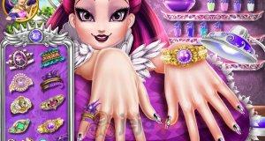 Paznokcie Raven Queen