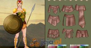 Kreator postaci: Amazonka