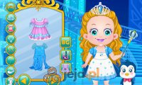 Baby Hazel jako lodowa księżniczka