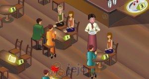 Kelner w barze