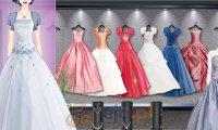 Kolorowe sukienki ślubne