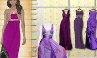Sukienki w odcieniach fioletu