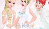 Księżniczki Disneya na festiwalu ślubnym