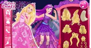 Księżniczka Barbie i gwiazda pop