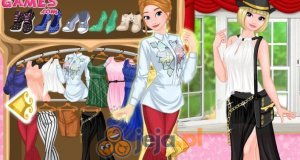 Elsa i Anna we Francji